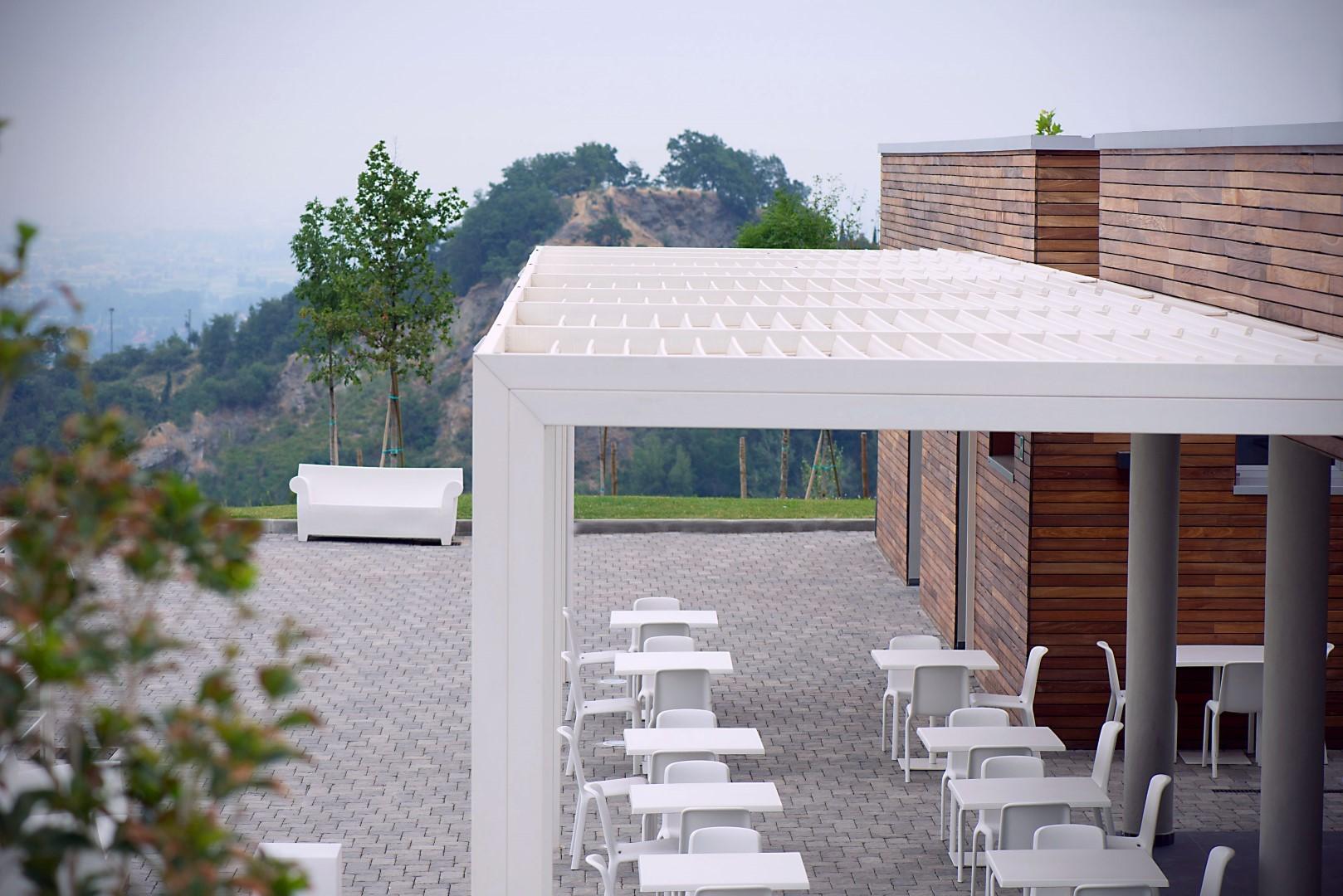 Tenda bioclimatica pioggia & antivento