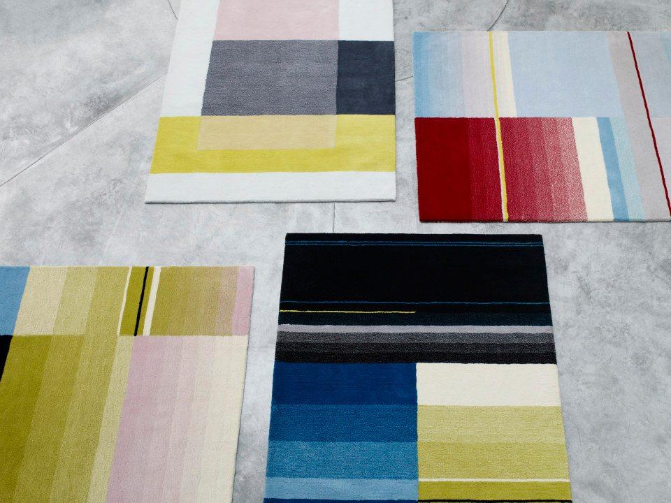 Possibilità di personalizzazione tappeti multicolore
