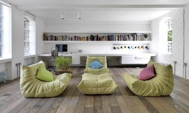Divani a sofà a seduta effetto tatami