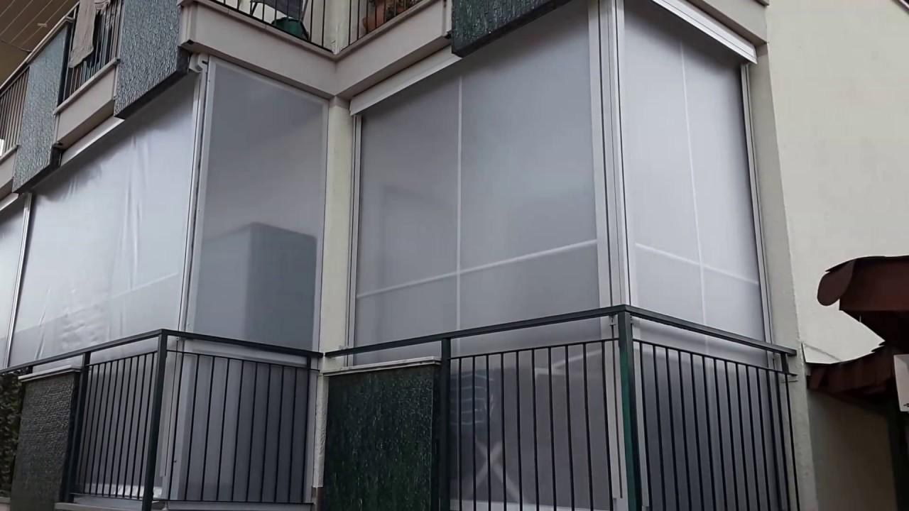 Pergole bioclimatiche in alluminio antisole e antivento for Tenda terrazzo