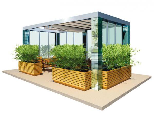 Rendering di strutture a progetto