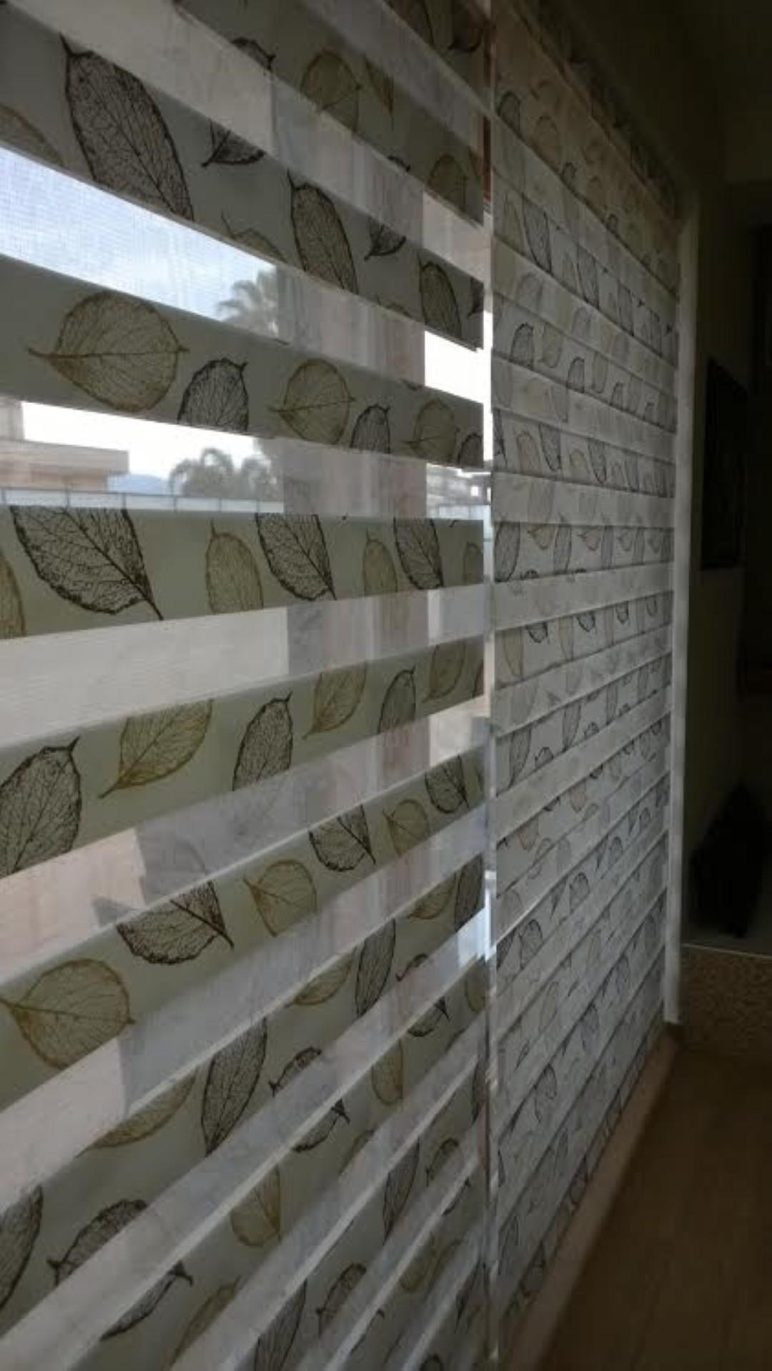 Tenda per filtraggio luce con texture su varie scelte