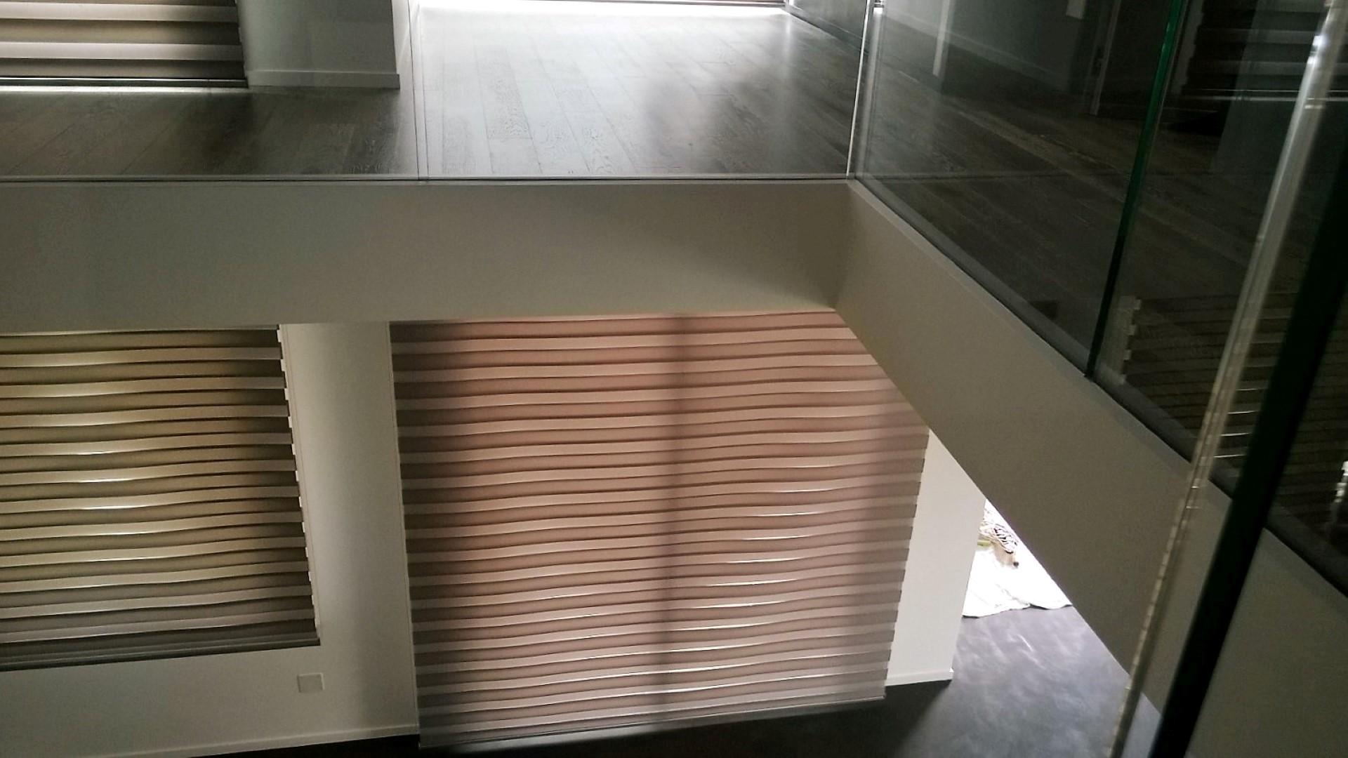 Tenda per vetrata a fasce