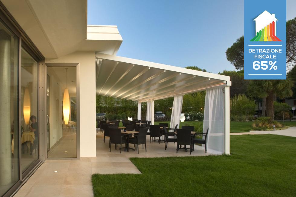 Tende da sole e schermature solari come usufruire dell 39 ecobonus 2017 - Tende bambu per esterno ...