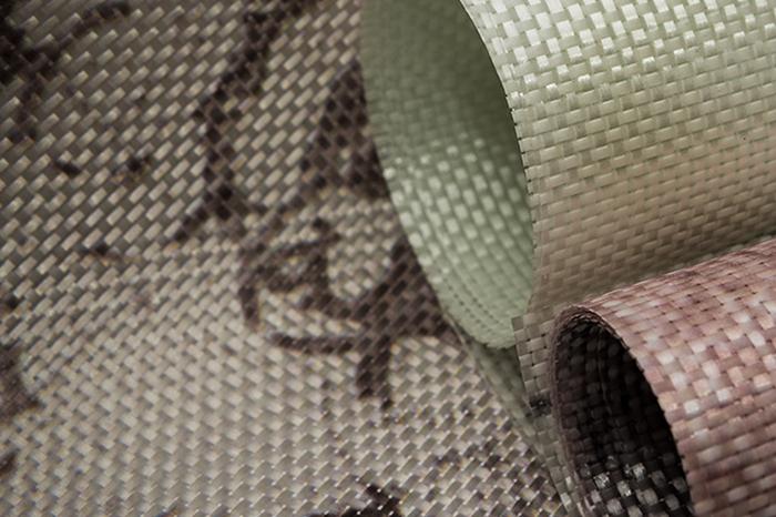 Parato in fibra di vetro calpestabile